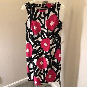 Dress Barn Sleeveless Sheath Dress W/Back Zipper